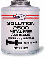 Antiseize & Lubricant Products- Solution 2500