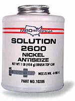 Antiseize & Lubricant Products- Solution 2600