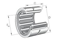 Needle Roller Bearings NKS Single Row without Inner Ring