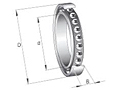 Super precision contact bearing series- 7900, 7000, 7200, 7300 CTDULP4