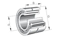 Needle Roller Bearings NA 4900 Single Row with Inner Ring