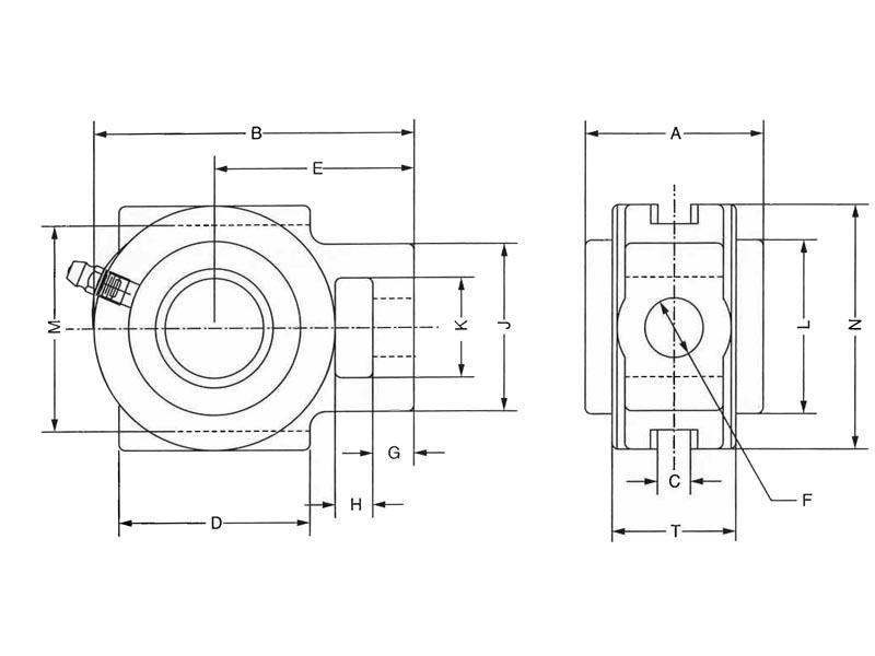 item   type e take up 2 75 u0026quot   type e wide slot take up units on emerson bearing