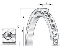 Deep groove ball bearing series-16002, 61800,61900