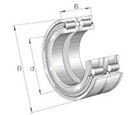 SL Sheave Wheel Roller Bearing