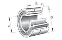 Needle Roller Bearings NA 4800 Single Row with Inner Ring