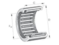 Needle Roller Bearings HK Open End Style