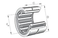 Needle Roller Bearings NK Single Row without Inner Ring